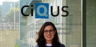 Beatriz Pelaz codirixe o grupo Bionanotools do CiQUS de Santiago. Foto: CiQUS.