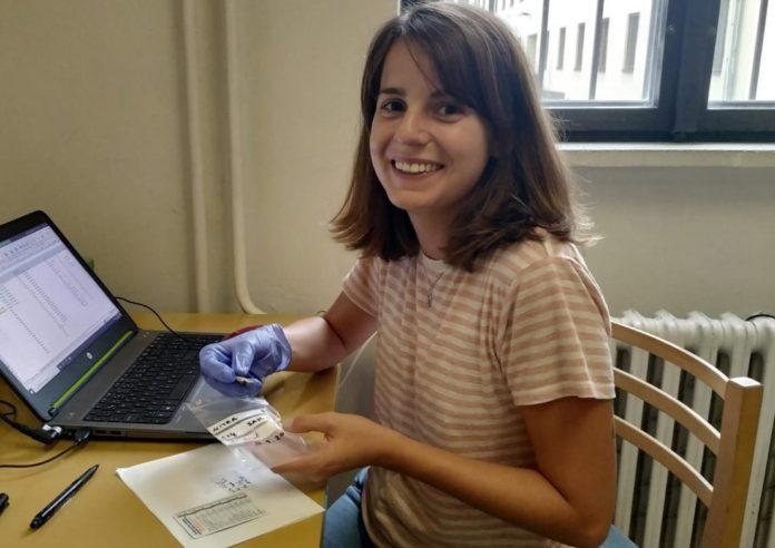 Berta Morell é investigadora do Grupo de Estudos de Arqueoloxía, Antigüidade e Territorio da Universidade de Vigo. Foto: Duvi.