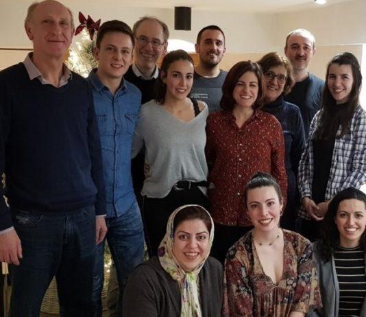 Membros do grupo de Fisioloxía de Peixes do Centro de Investigación Mariña de Vigo. Foto: CIM.