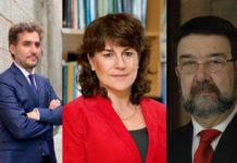 """Alberto García Basteiro, Beatriz González e Juan Gestal, tres dos asinantes da carta publicada polo grupo """"The Lancet""""."""