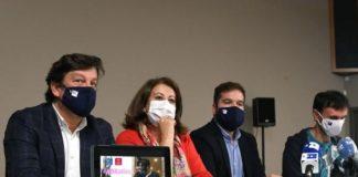 """Presentación da campaña de ocio responsable """"Non a líes"""". Foto: USC."""
