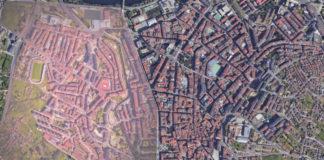 Zona con maiores restricións en Ourense. Fonte: Google Street View/Sanidade/Elaboración propia.