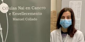 Pilar Picallos é investigadora no laboratorio que dirixe Manuel Collado no IDIS.