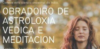 Cartel anunciador do acto programado no Espazo Xove de Carballo.