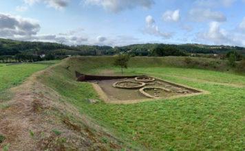 Vista do castro das Barreiras despois dos últimos traballos. Foto: Concello de Vimianzo.