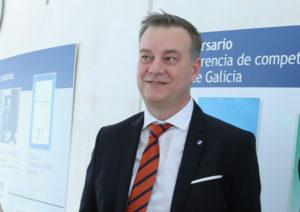 O doutor Rascado, nun acto da Consellería de Sanidade. Foto: Xunta de Galicia.