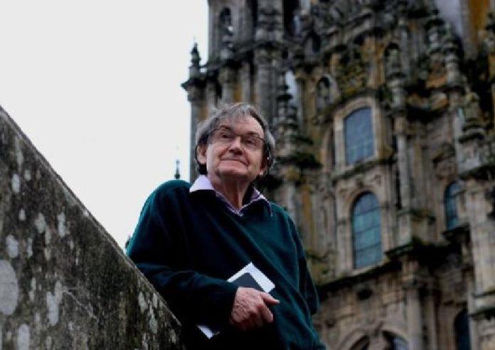 Roger Penrose, na súa visita a Santiago de Compostela no 2011. Foto: USC.