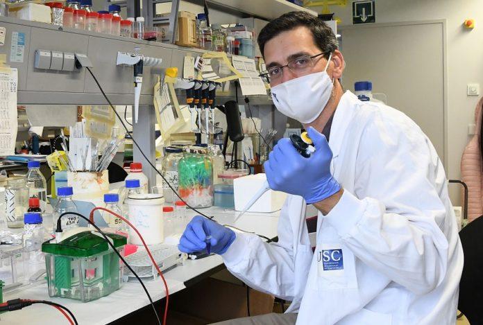 Rubén Nogueiras, investigador do CiMUS e autor principal do traballo. Foto: CiMUS.