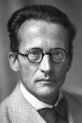 Retrato de Schrödinger no arquivo dos Premios Nobel.