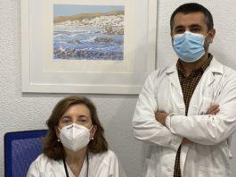 Marisa Crespo e Ignacio Constanso, dous dos autores da investigación. Foto: CIBERCV.