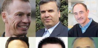 Jesús Simal, Seid Mahdi Jafari, Luis Liz Marzán, Francisco Barba, Jianbo Xiao e Juan José Nieto.