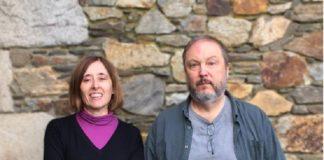 Isabel Bandín Matos e Carlos Pereira Dopazo son virólogos e profesores da Facultade de Bioloxía da USC.