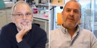 Antonio Figueras e David Posada, líderes da investigación do estudo sobre o panxenoma do mexillón.