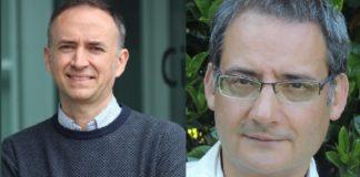 Diego Peña e Felipe Criado liderarán dous proxectos financiados coa Synergy Grant. Fotos: CiQUS/Incipit.