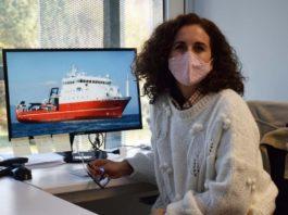 A profesora e investigadora Cristina Sobrino. Foto: Duvi.