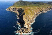 Imaxe aérea da Estaca de Bares. Foto: xunta.gal.