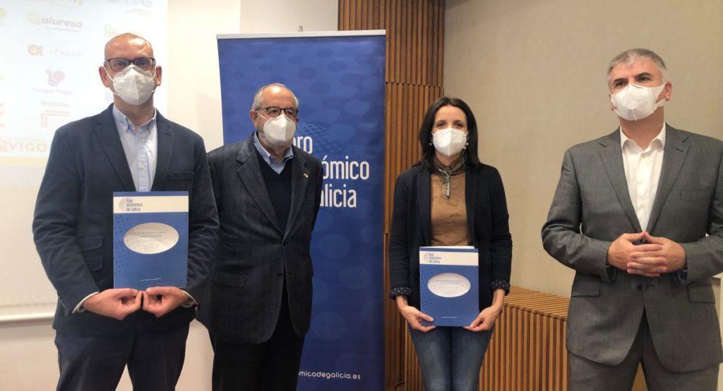Presentación do informe. Foto: Foro Económico de Galicia.