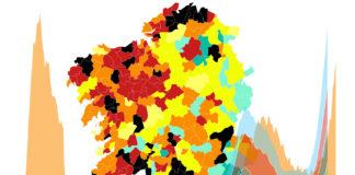 Numerosos concellos galegos acadaron nos últimos días incidencias moi altas de coronavirus.