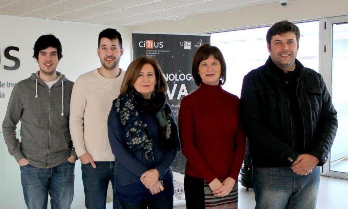 Investigadores da USC que participaronno desenvolvemento de DenTiUS Plaque. Foto: USC.