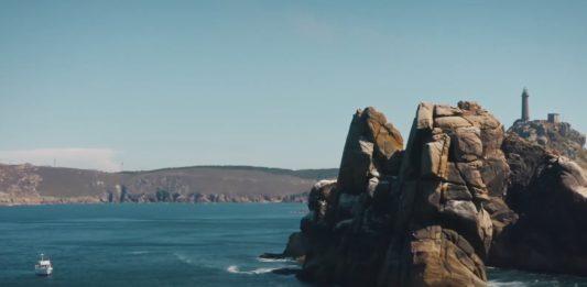 Vista desde a costa do cabo Vilán. Imaxe: Turismo Deputación da Coruña.