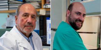 Os científicos Mariano Esteban (esquerda) e Juan García Arriaza, investigadores da vacina. Fotos: Vinca Page.-J.G. A. CSIC Comunicación