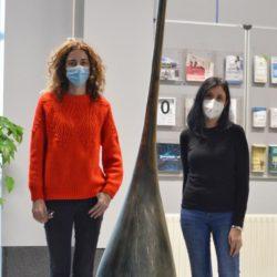 Beatriz Gullón e Sandra Riva son as investigadoras principais do proxecto. Foto: Duvi.