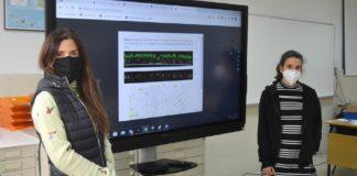 Julia Armesto e Laura Alonso, investigadoras da Escola de Enxeñaría Forestal. Foto: Duvi.