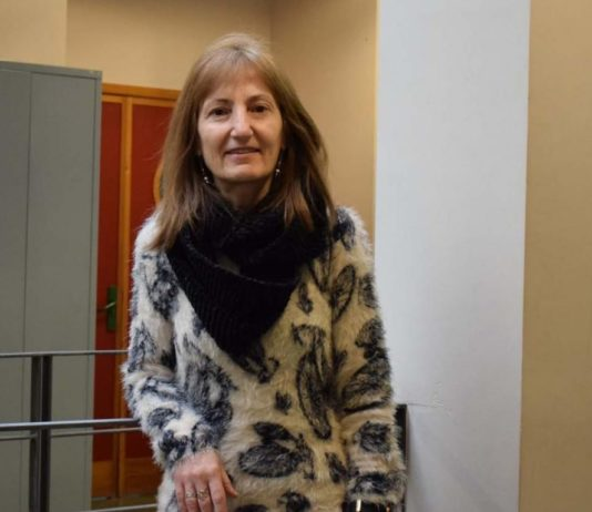 A catedrática do Departamento de ecoloxía e bioloxía animal da Universidade de Vigo María Jesús Iglesias Briones. Foto: Duvi.