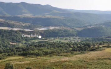Val do Cancelo e localización de Cova Eirós. Imaxe: Fábregas et al. (2020).