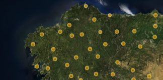 O visor permite observar máis de 1.000 edificios erixidos en Galicia entre 1050 e 1300. Fonte: Petriying Wealth.