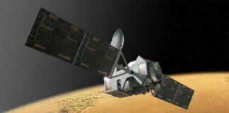 Recreación do ExoMars-TGO. Fonte: Axencia Espacial Europea.