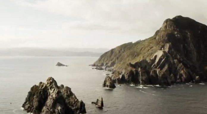 Vista dos farallóns de Ortegal. Imaxe: Deputación da Coruña.
