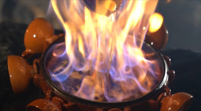 A queimada.