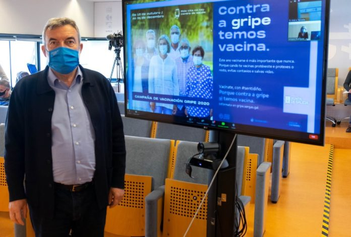José Antonio Taboada é Xefe de Servizo de Control de Enfermidades Transmisibles. Foto: Consellería de Sanidade.
