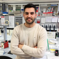 Anxo Martínez Ordóñez, primeiro autor do artigo. Foto: CiMUS.