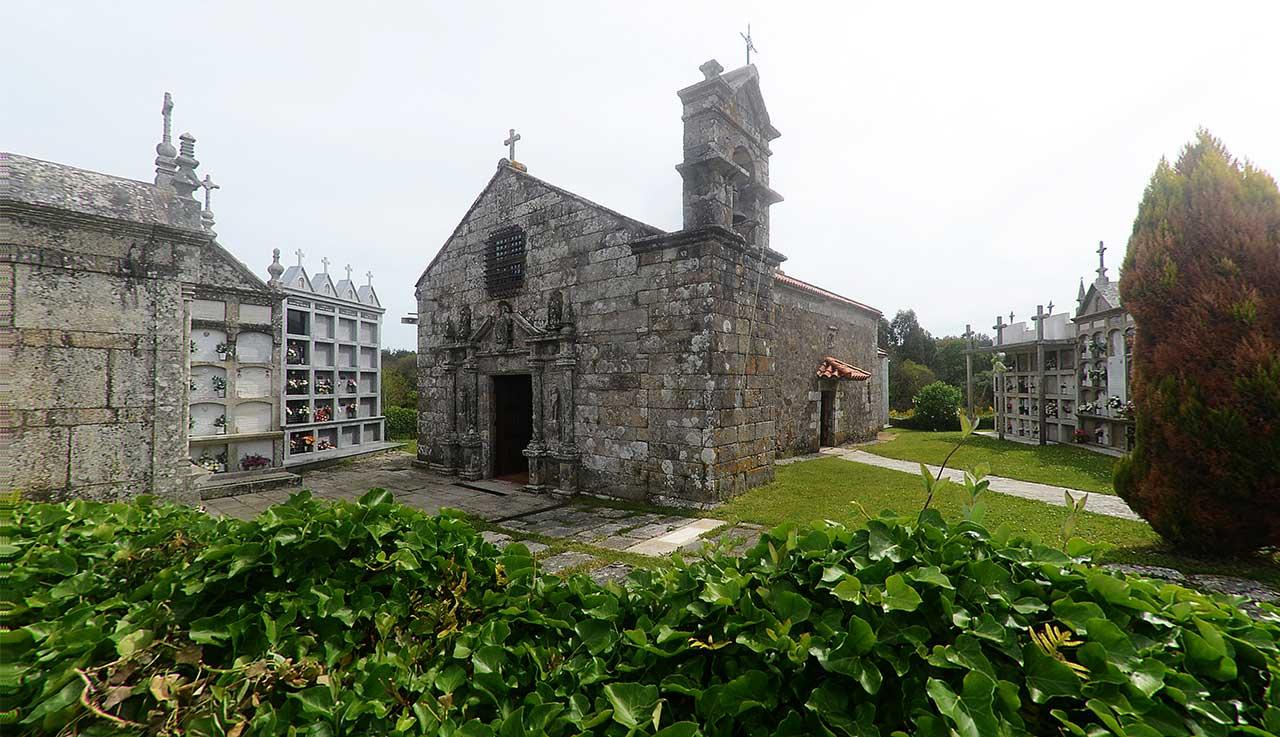 Capilla de San Pedro. Foto: torresdoallo.gal.