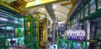 Instalacións do experimento LHCb. Foto: CERN.