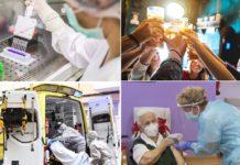 O fito das vacinas contrastou co levantamento rápido das restricións en momentos críticos e as consecuencias en forma de miles de falecementos.