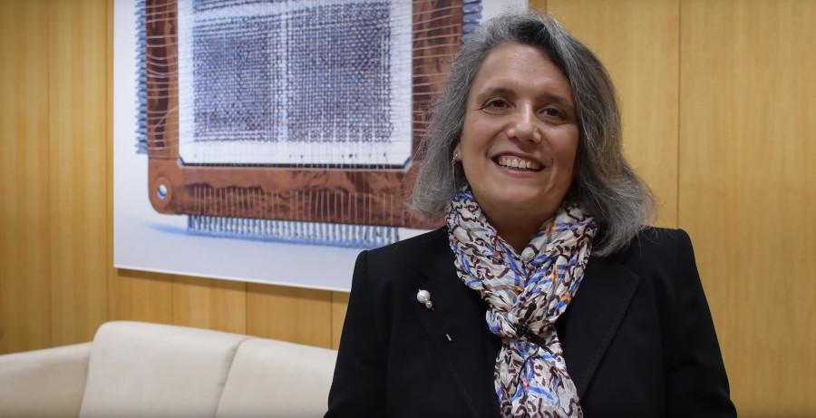 Alma Gómez é docente e investigadora na Escola Superior de Enxeñaría Informática da UVigo.