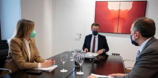 Reunión do comité clínico celebrado o martes 13 de abril. Foto: Xunta de Galicia.