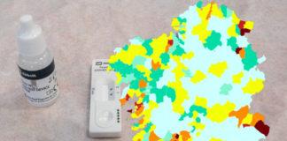 Sanidade fai un chamamento á participación nos cribados poboacionais para conter a transmisión nalgunhas áreas de Galicia. Imaxe: Sanidade/elaboración propia.