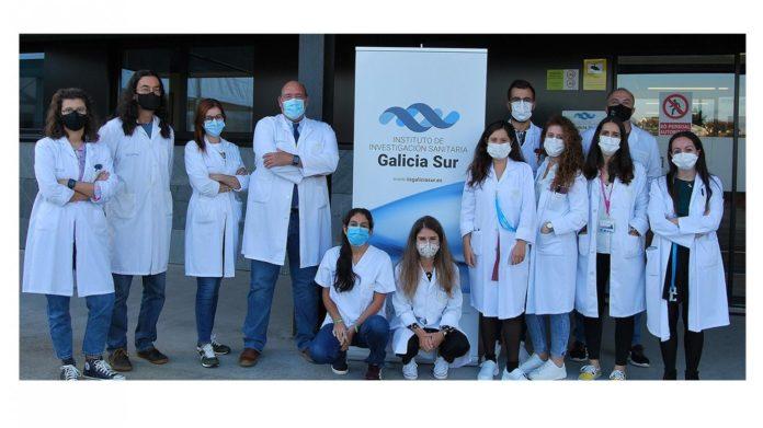 Investigadores do Grupo de Neurociencia Traslacional do Instituto de Investigación Sanitaria Galicia Sur. Foto: Sergas.