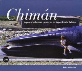 Portada de Chimán, libro de Álex Aguilar.