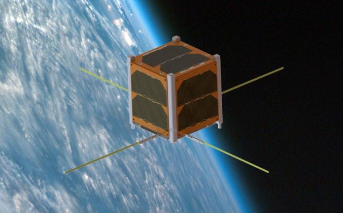 Recreación do satélite que se lanzará na misión Alfa Crux. Imaxe: Alén Space.
