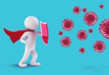 Ademais das vacinas, a inmunidade adquirida por mor dunha infección previa protexe como mínimo durante bastantes meses de enfermar de novo coa Covid-19. Fonte: Pixabay.