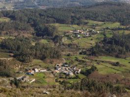 Aldeas de Montaña e Montañó, na parroquia de Lampón (Concello de Boiro). Foto: Adrián Capelo para a Fundación RIA.