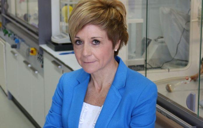 Concepción González Bello é profesora da USC e dirixe un grupo de investigación no CiQUS. Foto: CiQUS.