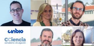 """Miguel Correa, Ana Gago, Jacobo de Uña, David Posada e Isabel Pastoriza participarán no ciclo """"Conversas Cinbio""""."""