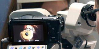 O traballo aborda o deseño de sistemas para tratar as enfermidades oculares dexenerativas. Foto: Santi Alvite/USC.