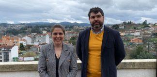 Os investigadores da UDC e UVigo, Teresa Piñeiro e Xabier Martínez Rolán. Foto: Duvi.